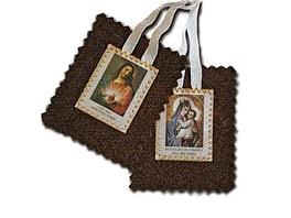 Rituel d'imposition du Scapulaire brun du Mont-Carmel, en francais.  Approuvé par la S.C. pour le Culte divin, en 1996.