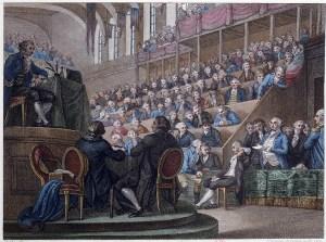 Procès de Louis XVI ouvert le 10 décembre 1792 et clos le 26 décembre suivant