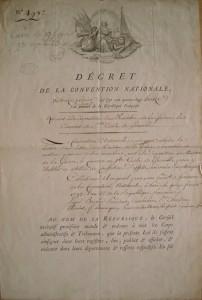 Décret 13 février 1790 portant abolition des ordres religieux
