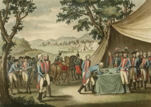 Signature du Traité de La Jaunaye le 17 février 1795