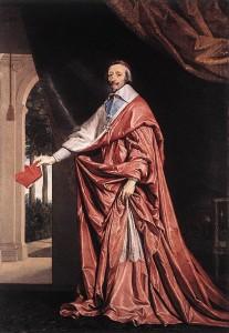 Armand Jean du Plessis de Richelieu, dit le cardinal de Richelieu (1585-1642)