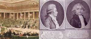 Nuit du 4-5 août 1789, portraits du Duc d'Aiguillon et du Vicomte de Noailles