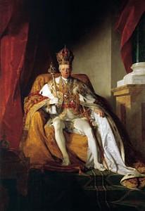 François Ier d'Autriche (1768-1835) devenu François II, Empereur du Saint Empire Romain Germanique