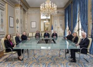 Membres actuels du Conseil constitutionnel (janvier 2015)
