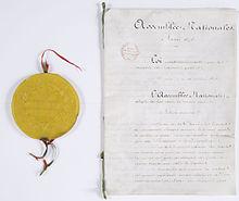 Loi constitutionnelle du 16 juillet 1875 sur les rapports des pouvoirs publics