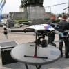 Fête nationale belge à Bruxelles le 21 juillet 2016 - Drone de la police belge - Drone of the belgian police. Wikipedia. CC 1.0. Non attribué