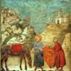 Saint-François illustre le rejet de la loi du Talion. Il ne cherche pas de réparation du préjudice par équivalent, mais donne sans attendre de contrepartie.