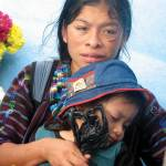 Mother and child; boat ride on Lake Atitlán —Rose Libby