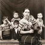 Los Todos Santeros by Hans Namuth