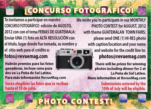 REVUE's August 2012 Photo Contest: Guatemalan Town Fairs
