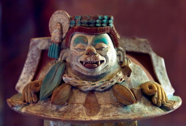 Maya cacao god, Ek Chuah