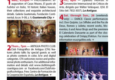 Revue's Datebook for August 2012