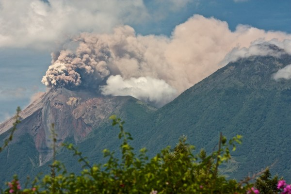 Photos of Guatemala's Fuego Volcano Erupting by Rudy Giron