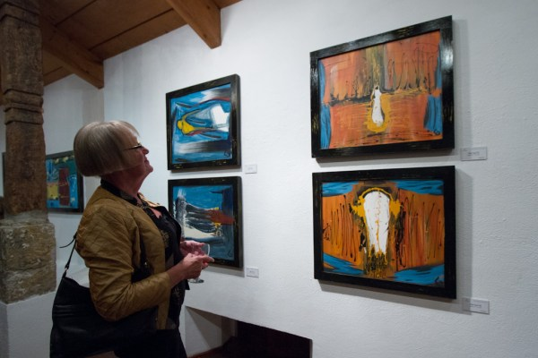 Works by Clemens Luhmann at Mesón Panza Verde by Nelo Mijangos