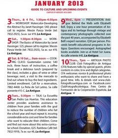 January 2013 in Revue Magazine