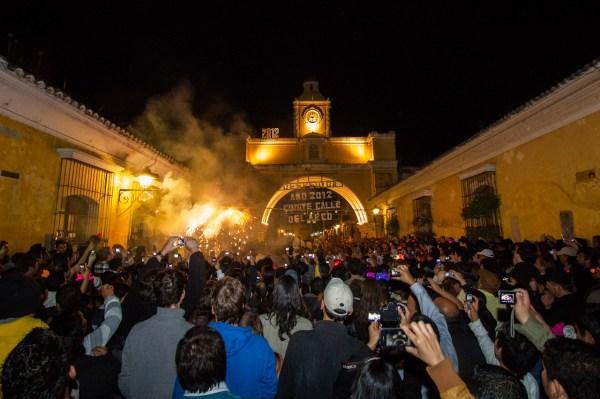New Year Celebrations in Antigua Guatemala Photo Gallery by Nelo Mijangos