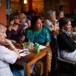 Presentation of Ecoleña at Rainbow Café by Nelo Mijangos