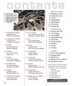 April 2013 in Revue Magazine