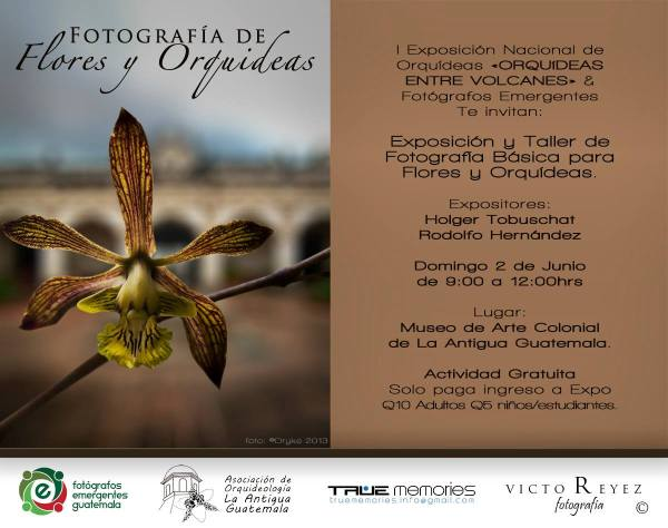 I Exposición Nacional de Orquídeas