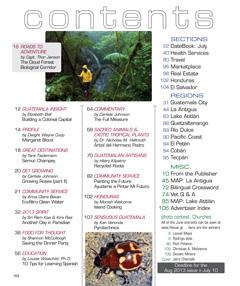 July 2013 in Revue Magazine