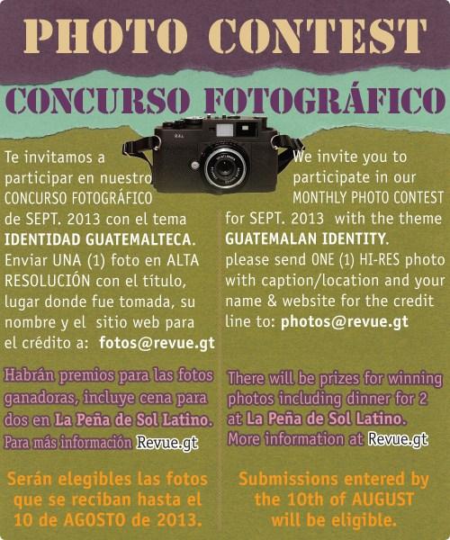 REVUE's September 2013 Photo Contest: Markets in Guatemala