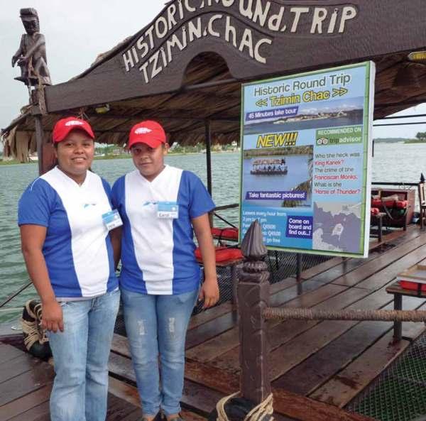 TziminChac now operating at Lago Petén Itzá, Flores, Petén