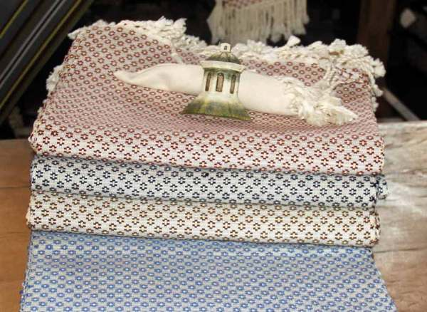 woven tablecloths
