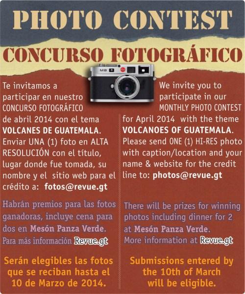 REVUE's April 2014 Photo Contest: Guatemalan Traditions