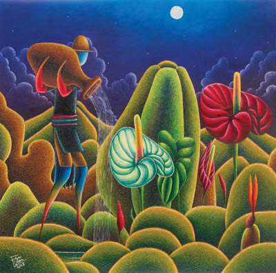 Edgar Chipix art, Guatemala