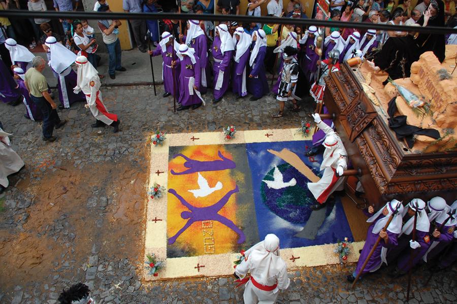 Guatemala Holy Week Carpet