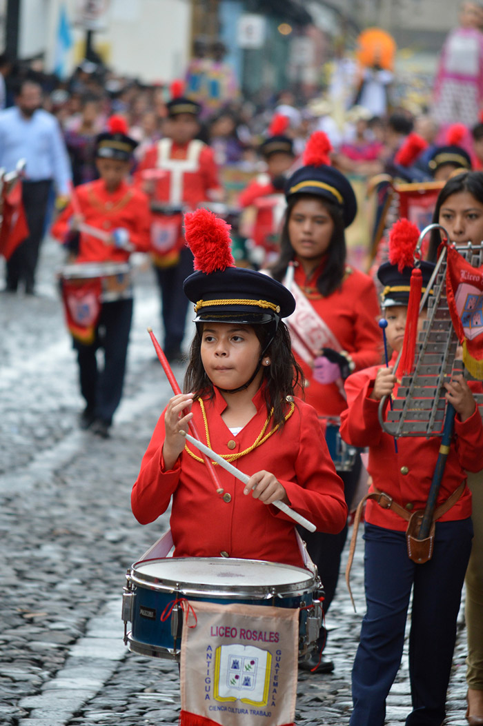 The Tradition of La Antigua Guatemala Marching Bands