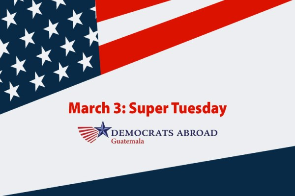 March 3: Super Tuesday