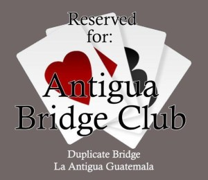 DUPLICATE BRIDGE @ La Antigua