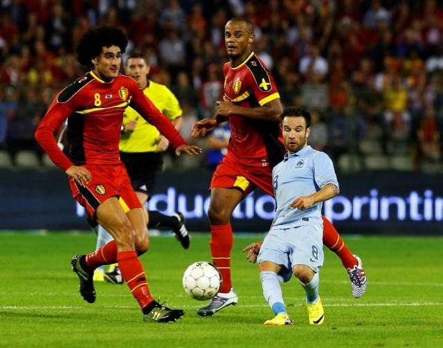 Effet d'optique et joueurs de foot
