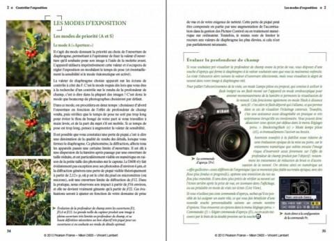 Manuel avancé Nikon D600