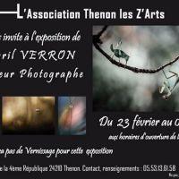 Exposition de Cyril Verron à la galerie Thenon les Z'Arts