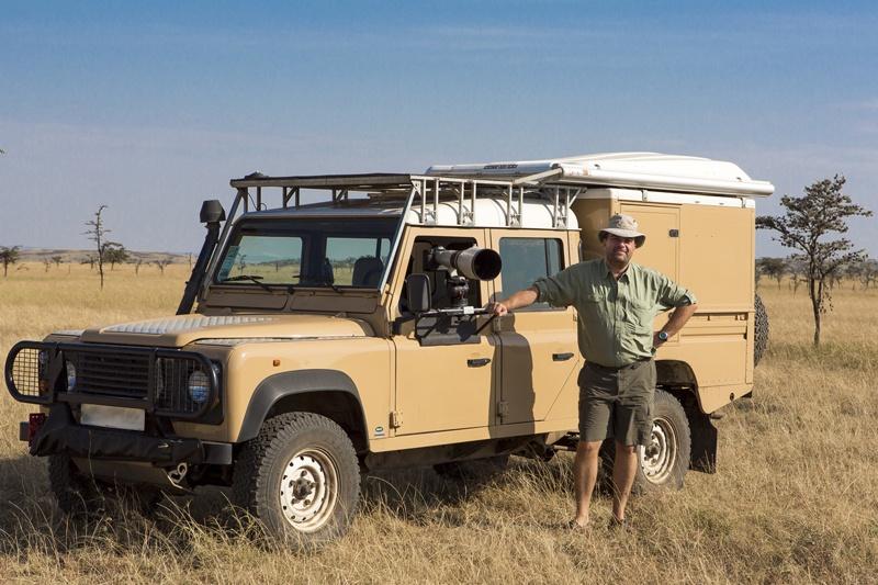La Land Rover Defender de Vincent Gesser