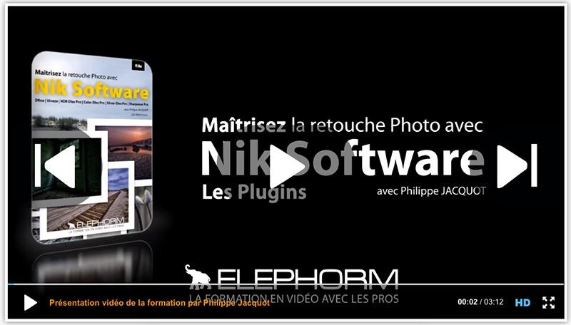 Elephorm - Maitriser Nik Software