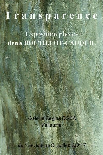 Transparence de Denis Boutillo-Cauquil