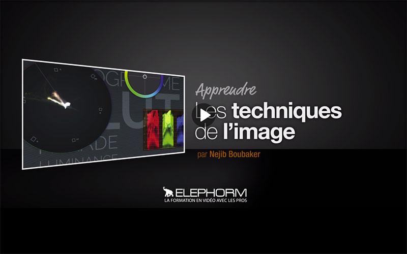 Elephorm - Apprendre les techniques de l'image Analyser et corriger l'image vidéo