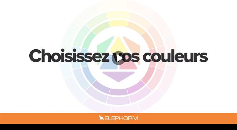 Elephorm - Choisissez vos couleurs