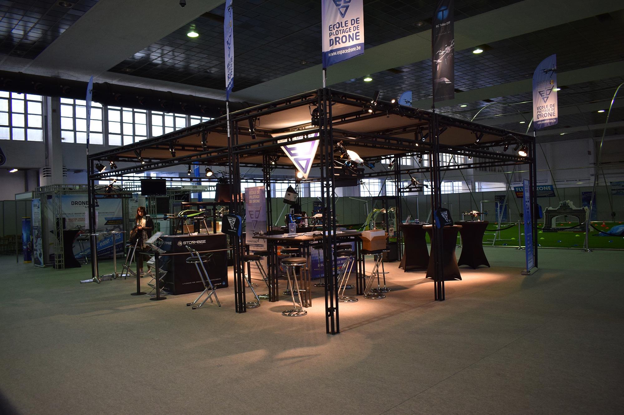 Le salon europ en du drone civil 9 10 et 11 mars 2018 for Salon agriculture bruxelles