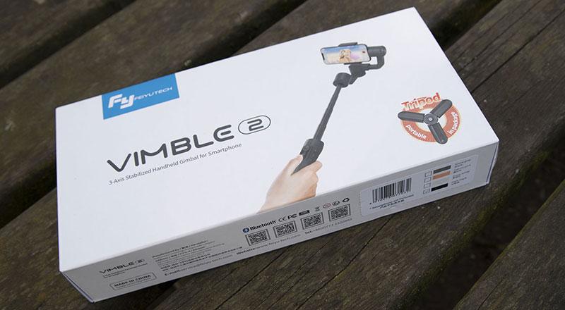 FeiyuTech Vimble 2, stabilisateur 3 axes pour smartphone
