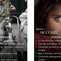Maitres.Photo : Masterclass de photo en ligne avec les plus grands photographes du monde