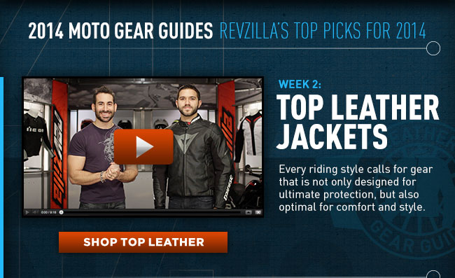 View RevZilla's 2014 Leather Gear Guide