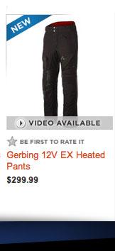 Gerbing 12V EX Heated Pants
