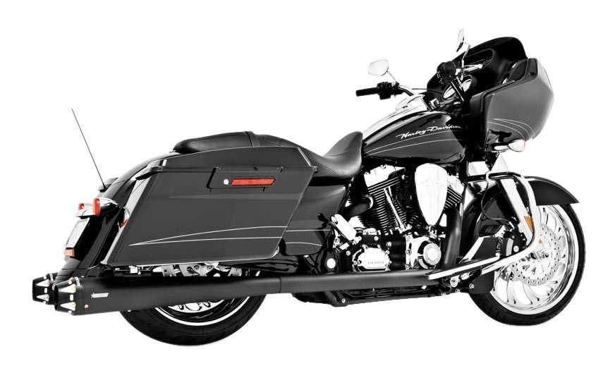 freedom performance american outlaw true dual exhaust for harley touring 2009 2016 10 140 00 off revzilla