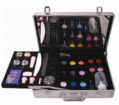 Groupon Goods Global Gmbh Rio Nail Studio With Two Professional Art Pen Sets In