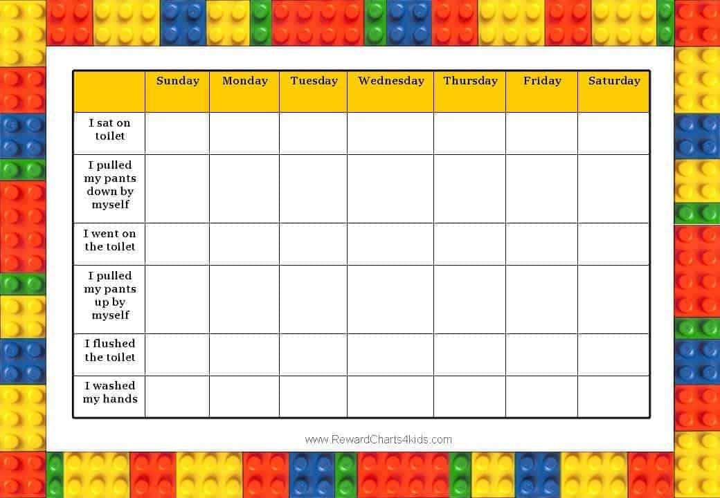 free daily behavior charts calendar template 2016