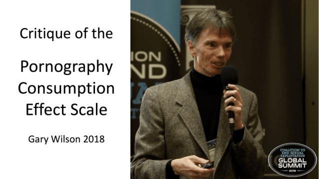 Gary Wilson er gagnrýni á sýnileika um neysluáhrif Scale Hald og Malamuth 2008